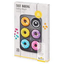 Birkmann Donutplatten Easy Baking Donut-Blech für 6 Donuts, Stahl