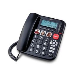 Emporia KFT19 Seniorentelefon schwarz Seniorentelefon