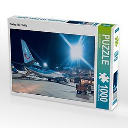 Boeing 737, Tuifly Lege-Größe 64 x 48 cm Foto-Puzzle Bild von aeroTELEGRAPH Puzzle