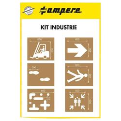 A.M.P.E.R.E Schablonenset Schablonen KIT Industrie (1 Stk.)