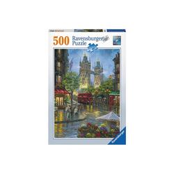 Ravensburger Puzzle Puzzle 500 Teile, 49x36 cm, Malerisches London, Puzzleteile
