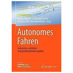 Autonomes Fahren - Buch