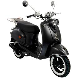 AGM MOTORS Motorroller GMX 460 Retro Classic NF Edition, 50 ccm, 45 km/h, Euro 4 grau