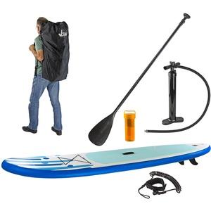 SUP Stand-Up-Paddle-Board / Surfboard, 305 x 71 cm, Blau mit Finne & Zubehör