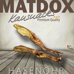 MATDOX Premium Hasenohren - 25 Stück