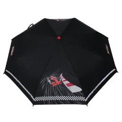 Scout Taschenregenschirm schwarz