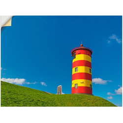 Artland Wandbild Pilsumer Leuchtturm, Gebäude (1 Stück) 60 cm x 45 cm
