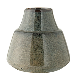 Bloomingville Vase gebranntes Steingut Blau