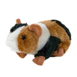 Teddys Rothenburg Kuscheltier (Meerschweinchen gescheckt 17 cm schwarz-weiß-braun, Plüschmeerschweinchen, Stoffmeerschweinchen, Plüschtier, Stofftiere, Meersau)