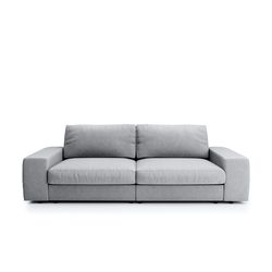 Big Sofa  Brooke ¦ grau