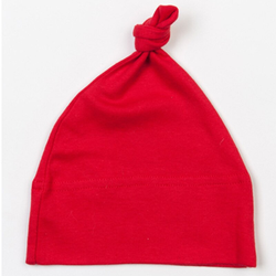 Baby One Knot Hat | Babybugz red