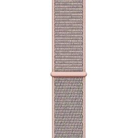 Apple Watch Series 4 (GPS + Cellular) 44mm Aluminiumgehäuse gold mit Loop Sportarmband sandrosa
