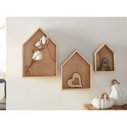 HomeLiving Bild Haus, Motiv siehe Bild/Beschreibung