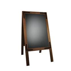 update displays Kundenstopper Noir braun 42,0 x 62,0 keine Fächer