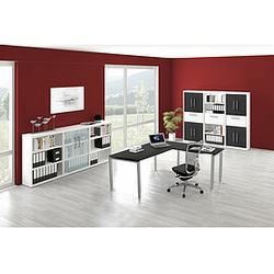 FORM 5 Büromöbel Set, 1 Arbeitsplatz 450x560