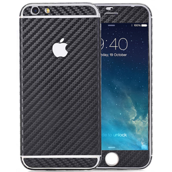 Handyfolie für iPhone 6 / 6s - Carbon