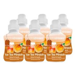 Sodastream Sirup Ice Tea Pfirsich 0,375 Liter, 6er Pack