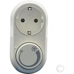 EGB 101 430 - Schutzkontakt-Zwischensteckdose mit Dimmer