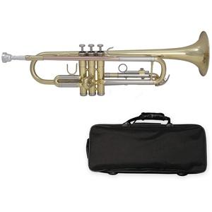 Tuyama® TTR-171 B-Trompete Messing Bb Trumpet + Mundstück + Koffer