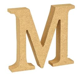 """VBS Buchstaben """"MDF"""" 8 cm x 1,5 cm bunt Buchstabe """"M"""""""