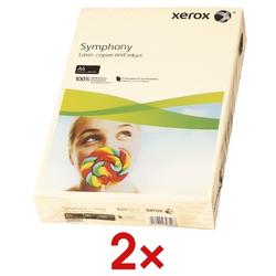 2x Farbiges Papier »Symphony« beige, Xerox