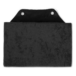 Bestlivings Reisekissen, Badewannenkissen, Nackenkissen in 16x25cm, Kissen für die Badewanne schwarz