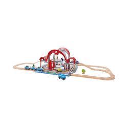 Hape Spielzeugeisenbahn-Set Großstadtbahnhof