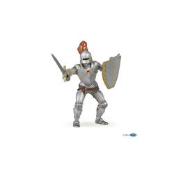 papo Spielfigur Ritter in Rüstung mit roter Feder