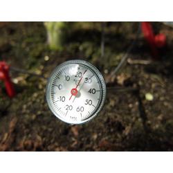 Vitavia Erdthermometer zum Messen der Bodentemperatur,,