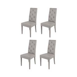 T M C S - Chaises Made in Italy Tommychairs - Set 4 chaises CHANTAL pour cuisine et salle à manger,
