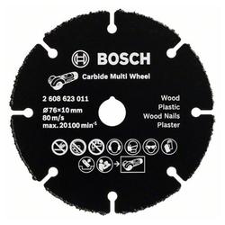 BOSCH Trennscheibe Trennscheibe Hartmetall Multi Wheel 76 mm. 10 mm.