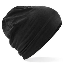 Hemsedal Cotton Beanie | Beechfield Black/Black