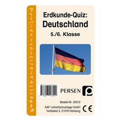 Erdkunde-Quiz: Deutschland (Kartenspiel)