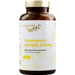 ROSENWURZ Extrakt 500 mg Kapseln 120 St.