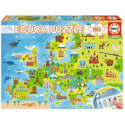Educa - Europakarte 150 Teile Puzzle
