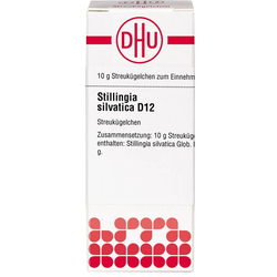 STILLINGIA silvatica D 12 Globuli 10 g