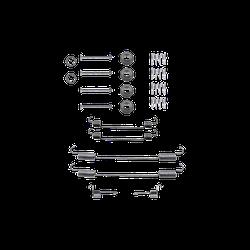QUICK BRAKE Zubehörsatz, Bremsbacken 105-0813  HYUNDAI,COUPE RD,ELANTRA XD,ELANTRA Stufenheck XD,LANTRA II Wagon J-2,LANTRA II J-2,LANTRA I J-1