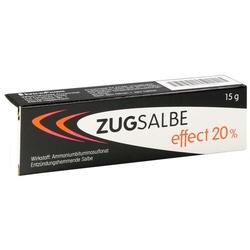 ZUGSALBE effect 20% Salbe 15 g