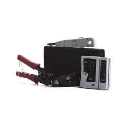 Werkzeugset Netzwerke 4-teilig mit Tasche 39919.1