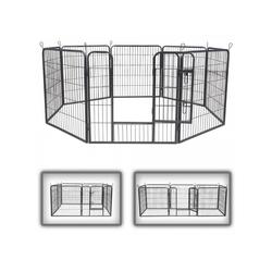 zoomundo Hundekäfig Welpenauslauf / Freilaufgehege 8-Eck - L