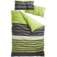 H I S Majoran Linon grün (135x200+40x80cm)