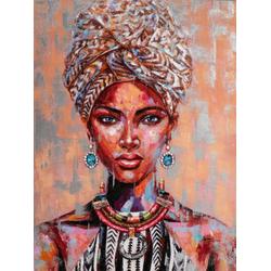 Gemälde AFRIKANISCHE SCHÖNHEIT