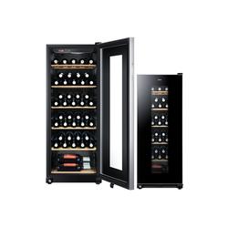 Haier Weinkühlschrank WS59GAE, für 59 Standardflaschen á 0,75l,Anti-Vibrationskompressor