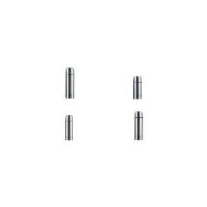 emsa Isolierflasche SENATOR, 0,5 Liter, Edelstahl hochwertiger, vakuumisolierter Edelstahlkolben, SAFE LOC - 1 Stück (618501600)