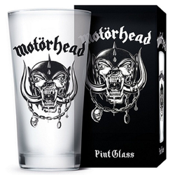 Motörhead Whiskyglas MÖTORHEAD Trinkglas, Glas, transparent, 9 x 9 x 15 cm 0,3 l Neu