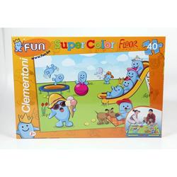 Clementoni® Puzzle Clementoni - Floor Puzzle - Riesenpuzzle, 40 Teile, 40 Puzzleteile