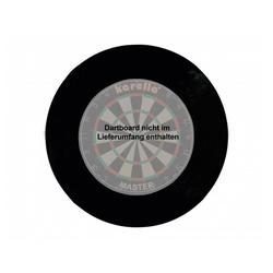 Karella Dartscheibe Catchring-Auffangring Stoff 4 tlg. schwarz