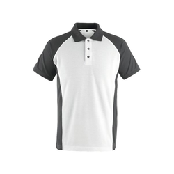 Polo-Shirt »BOTTROP« Größe L weiß, Mascot