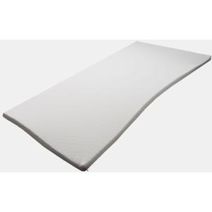 Pyramidenkönig Viscoelastische Matratzenauflage 5 cm, Visco, Memoryschaum Topper Härtegrad 3, ohne Bezug (120 x 200 cm)