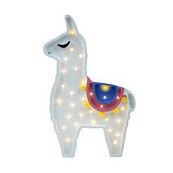 Lampa dziecięca w kształcie lamy